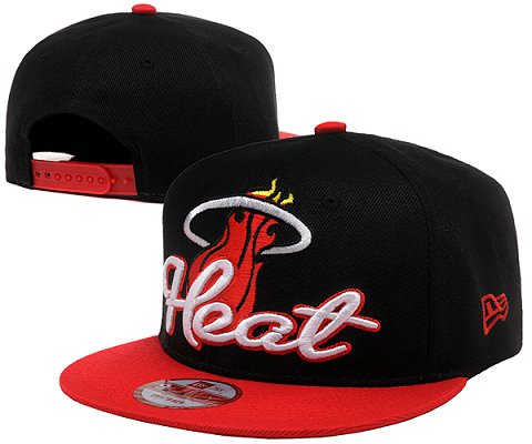 Miami Heat NBA Snapback Hat SD02
